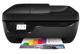 I just bought a brand new printer (Officejet 3830) and installed the full featured setup file, but I got this